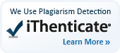 We use plagiarism detection iThenticate